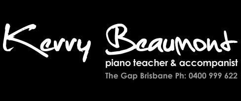 Kerry Beaumount Piano Teacher and Accompanist The Gap Brisbane
